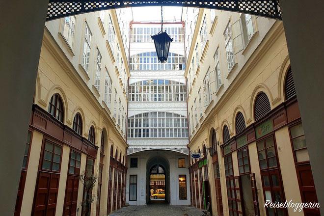Verborgene Innenhöfe in Wien