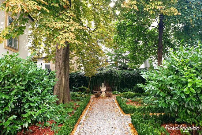 Garten im Haydn Wohnhaus
