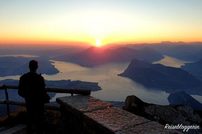 Sonnenaufgang am Pilatus