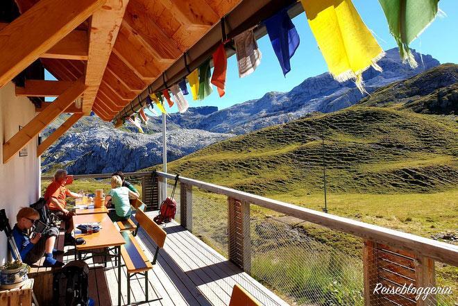 Tilisunahütte liegt in Vorarlberg