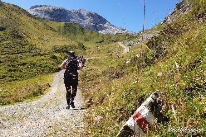Wanderung zur Tilisunahütte