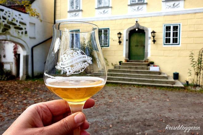 Bierverkostung bei den Beer Buddies in Tragwein