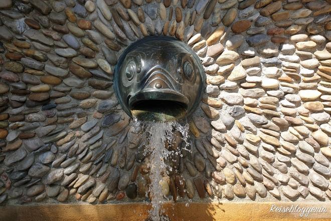 Brunnen an der Strudlhofstiege