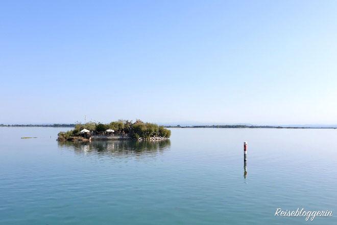 Casoni in der Lagune von Grado