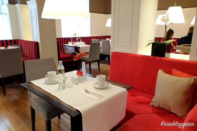 Frühstücksraum Hotel Harmonie