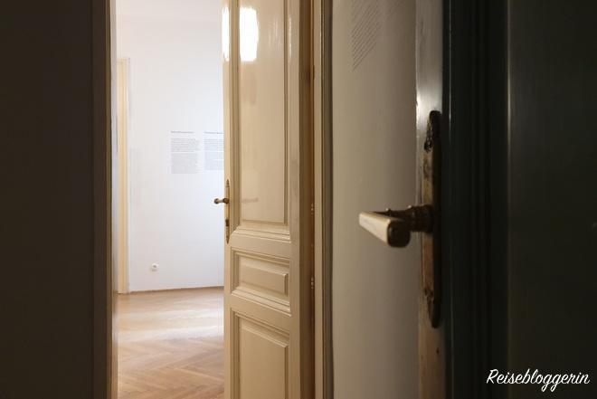 Geheimer Durchgang im Freudmuseum