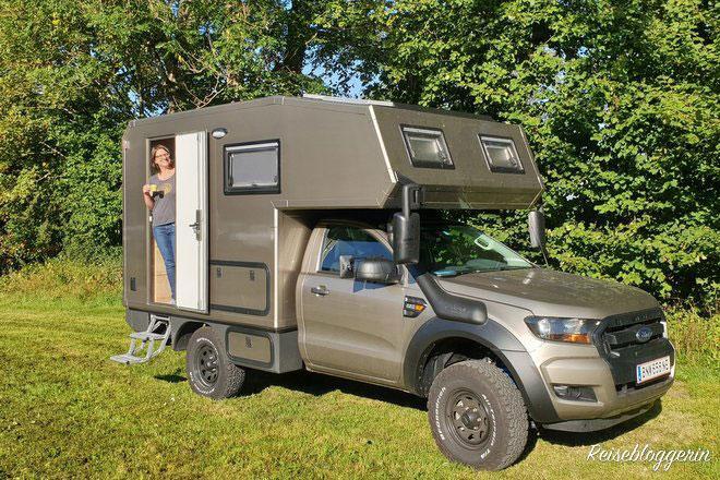 Die Reisebloggerin ist mit dem Wohnmobil unterwegs - Campen in Oberösterreich