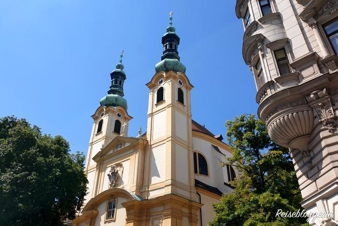 Servitenkirche im Servitenviertel