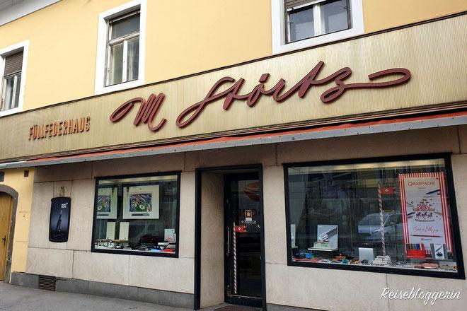 Das Füllfederhaus in Graz