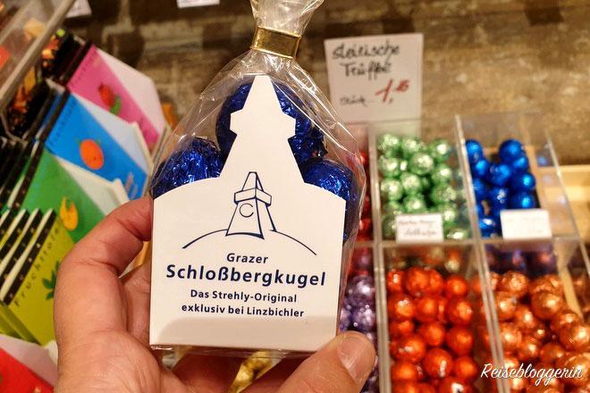 Grazer Schlossbergkugeln - Eine Süßigkeit