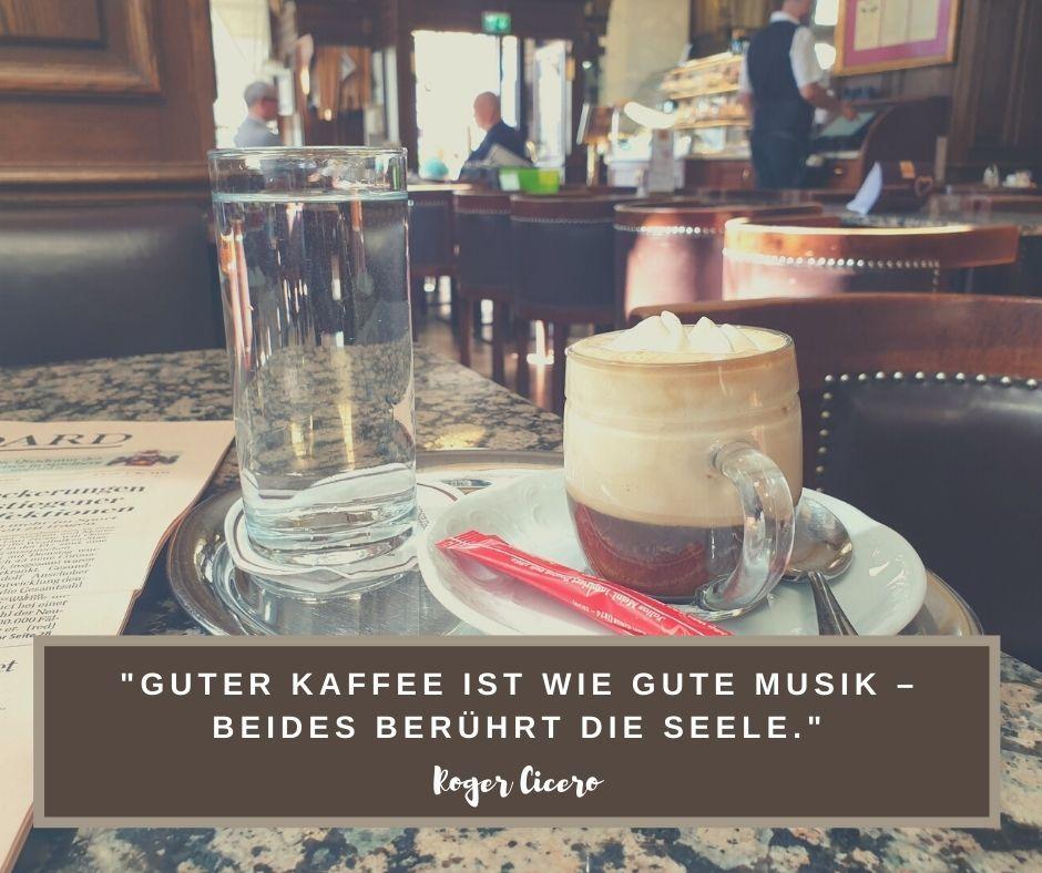 Guter Kaffee ist wie gute Musik