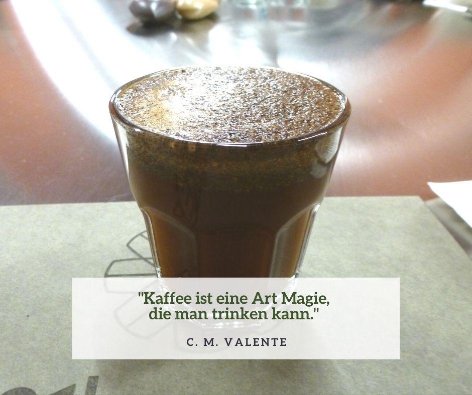 Kaffee ist eine Art Magie