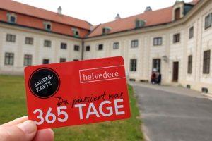 Jahreskarte Belvedere
