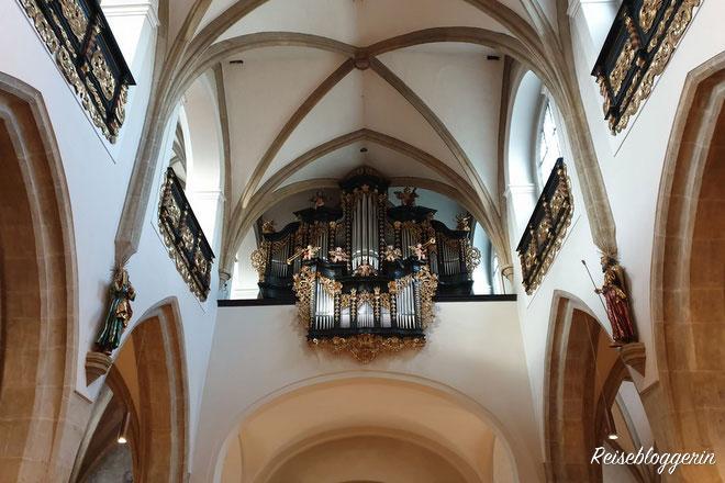 Die Orgel in der Stadtpfarrkirche
