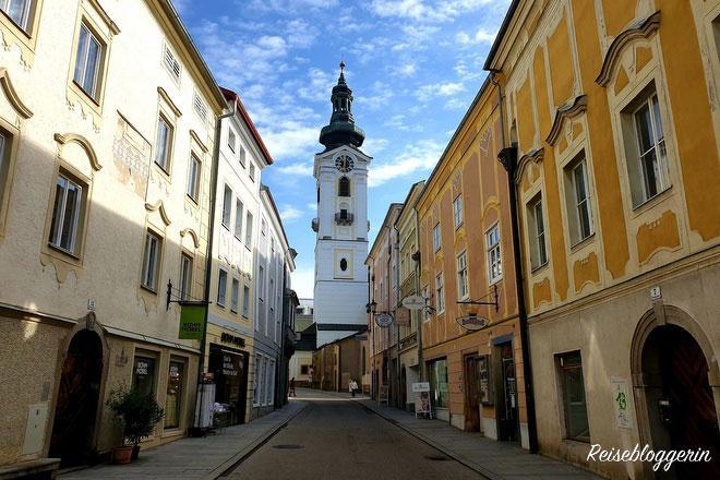 Die Stadtpfarrkirche von Freistadt