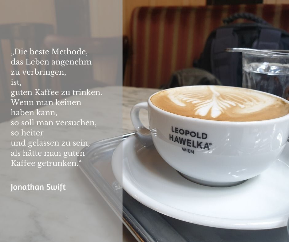 Jonathan Swift spricht über Kaffee