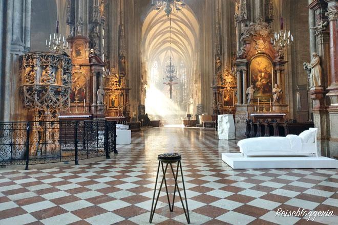 Im Stephansdom - Mein Jahr in Bildern