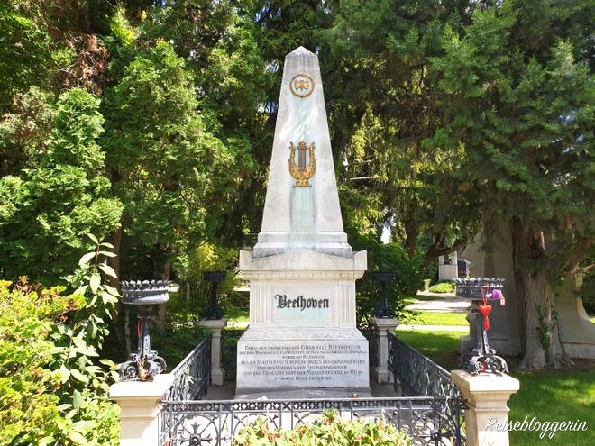 Beethoven Grab am Wiener Zentralfriedhof