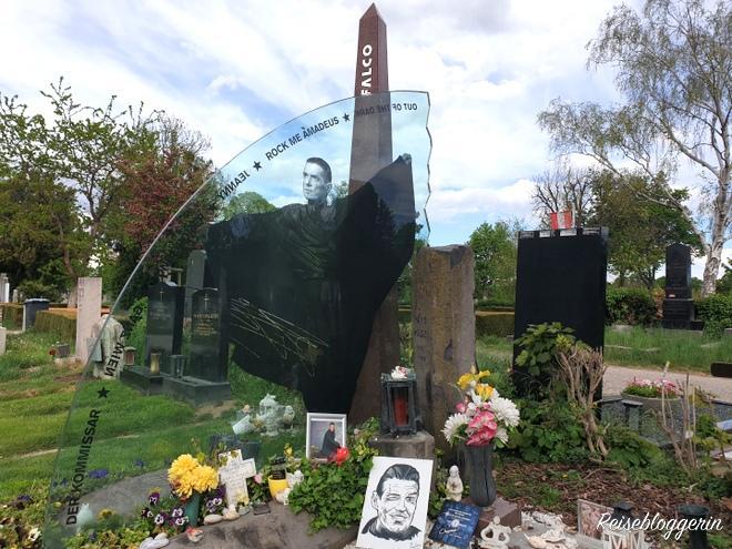 Ehrengrab von Falco am Wiener Zentralfriedhof