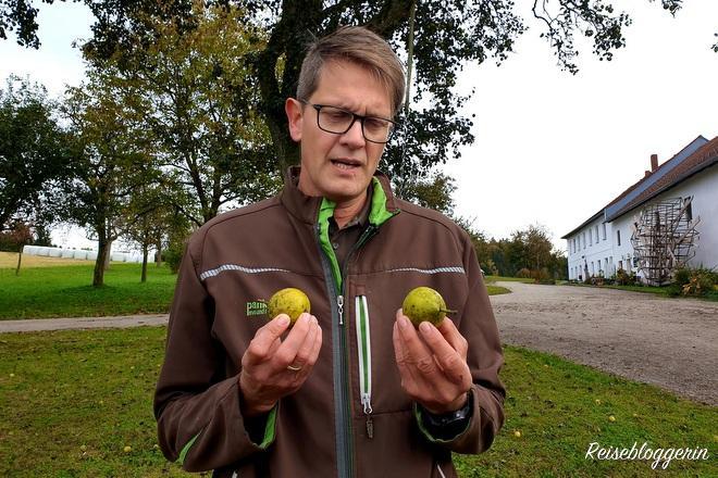 Norbert Eder, einer von vielen Biobauern aus dem Mühlviertel
