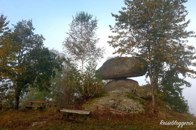 Der Schwammerlstein im Mühlviertel steht auf dem Grundstück des Biobauern Schmiedberger