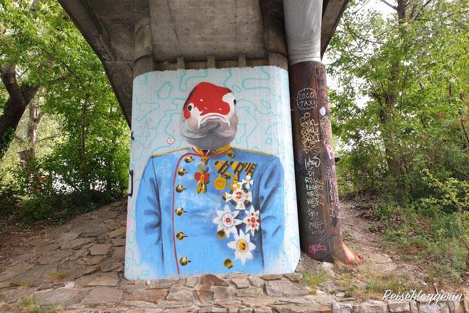 Street Art Alte Donau