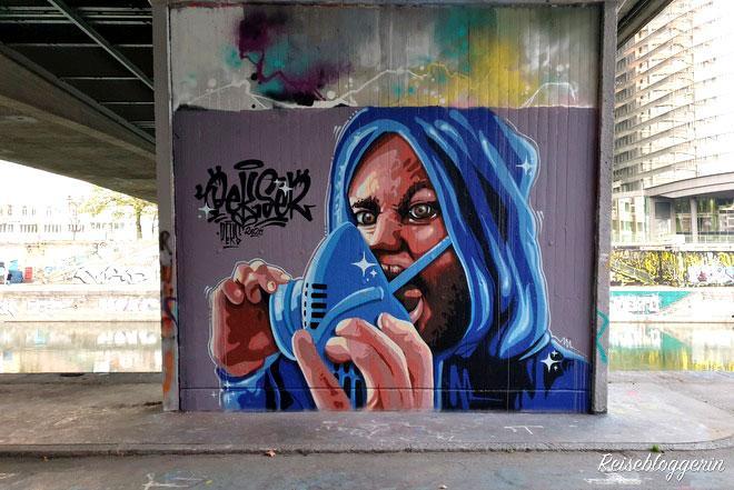 Street Art Vienna Donaukanal Wien