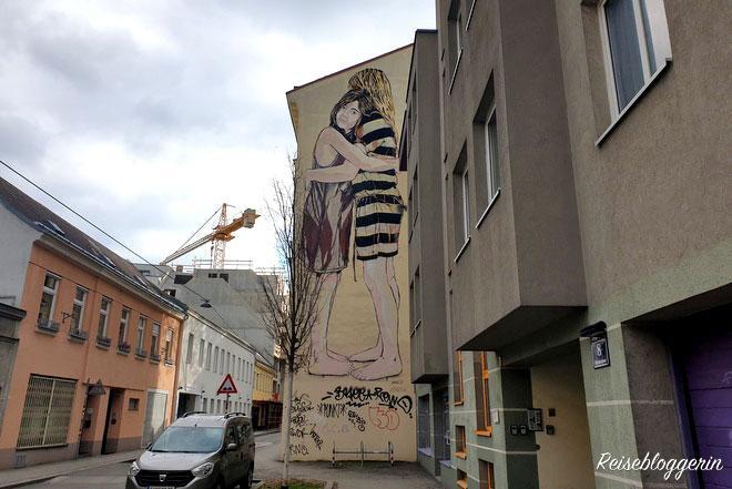 Street Art Vienna - Jana und JS