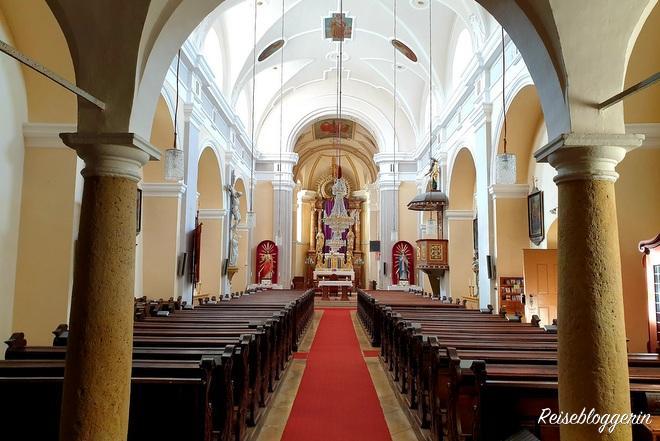 Innenraum Pfarrkirche Falkenstein