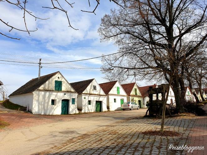 Presshäuser in der Oagossn in Falkenstein