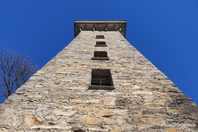 Hubertuswarte - ein Turm mit Aussicht