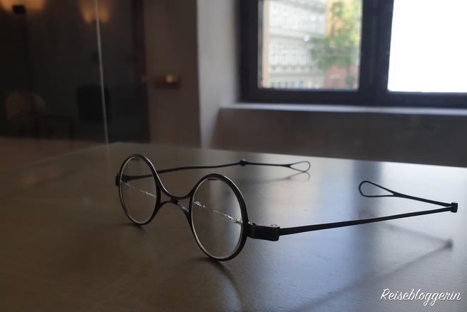 Brille des Komponisten Schubert