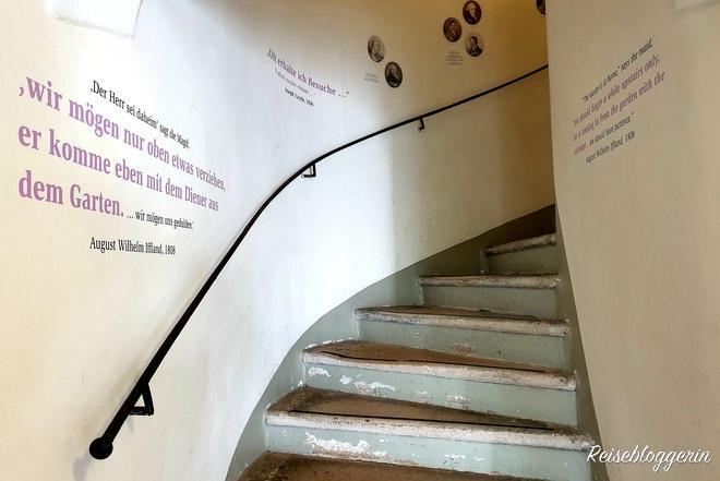 Stiegenaugang in Haydns Haus