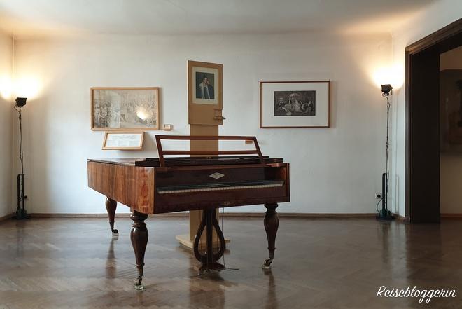 Klavier im Schubert Geburtshaus