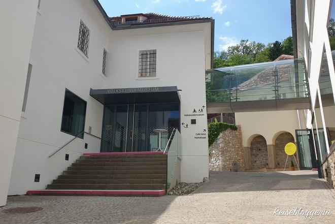 Eingang zum Volkskundemuseum
