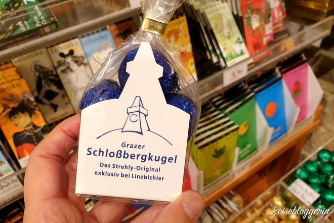 Grazer Schlossbergkugeln - eine süßes Geschenk aus Graz