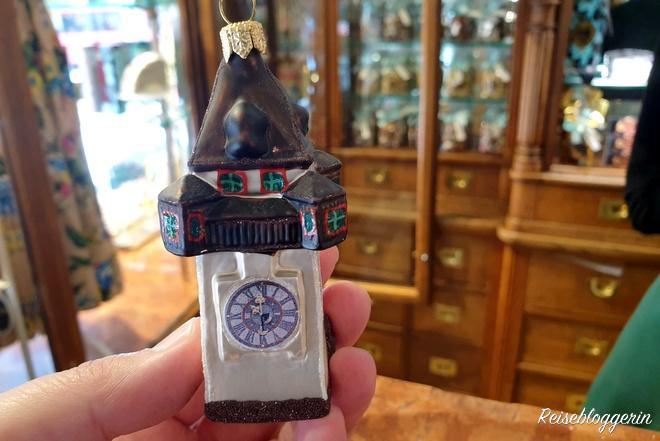 Grazer Uhrturm als Christbaumschmuck