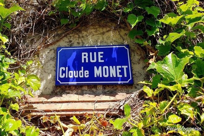 Straßenschild Claude Monet