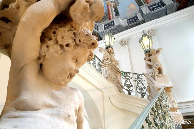 Stiegenaufgang zum Museum für Geschichte Graz