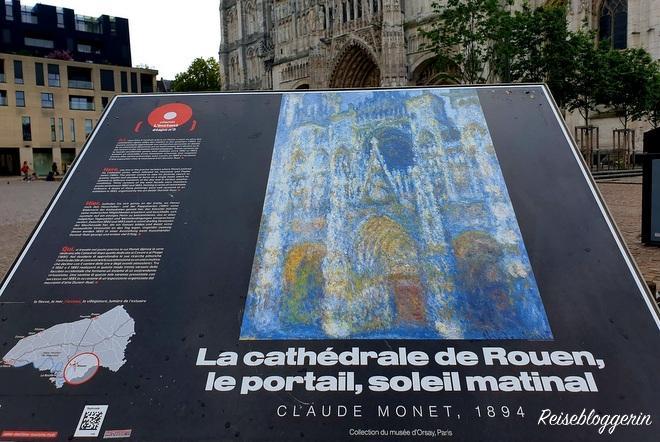 Infotafel vor der Kathedrale