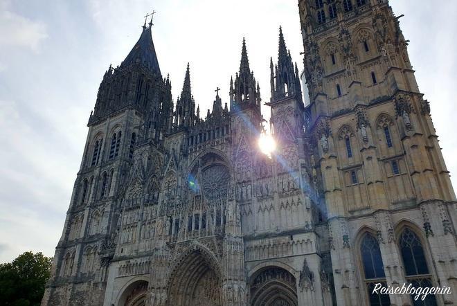 Westfassade der Kathedrale von Rouen