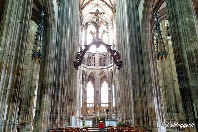 Die Kirche Saint-Maclou in Rouen