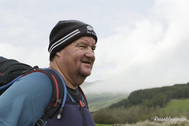 """Mark unterwegs am Jakobsweg für den Film """"Himmel über dem Camino"""" - Foto Copyright Lunafilm"""