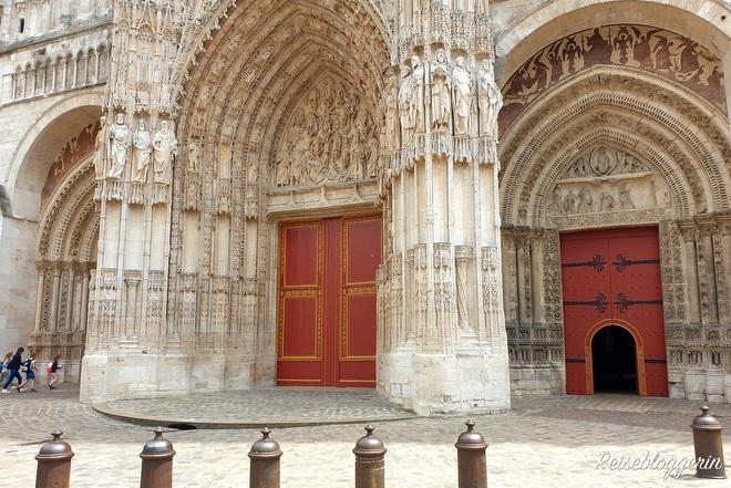 Das Portal der Kathedrale Notre-Dame in Rouen
