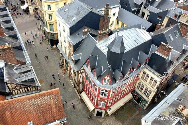 Rouen von oben