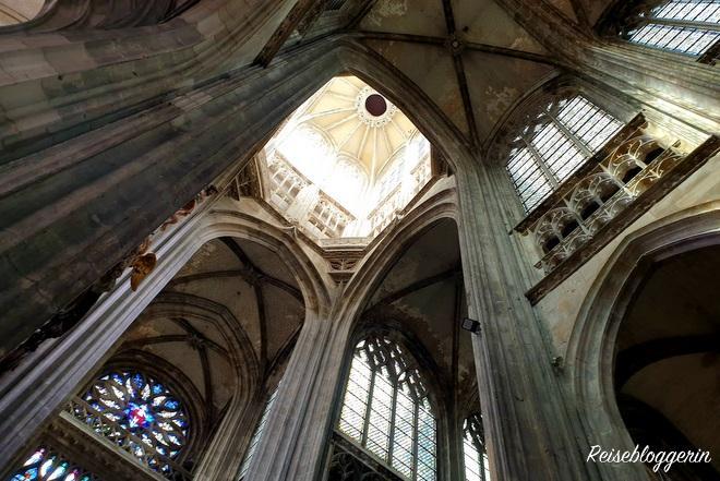 Foto von der Decke der Kirche Saint-Maclou