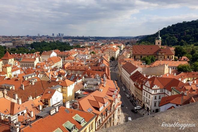 Aussicht auf die Prager Kleinseite