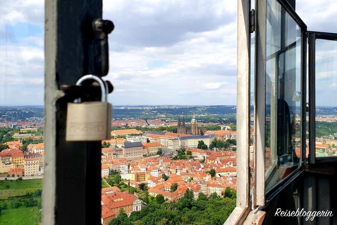 Aussicht auf die Prager Burg