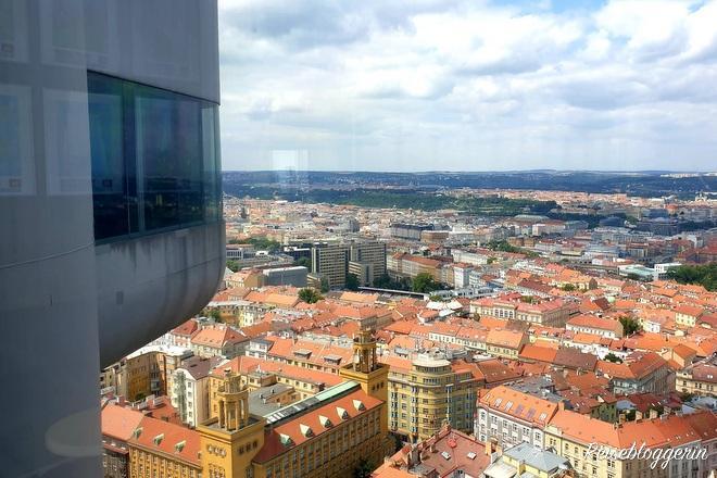 Aussicht vom Prager Fernsehturm