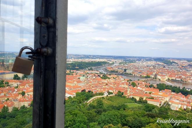 Aussicht vom Petrin auf Prag